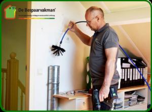 Reiniging en afstelling ventilatiekanalen