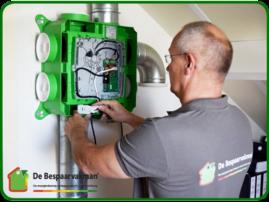 Plaatsing DUCO mechanische ventilatie